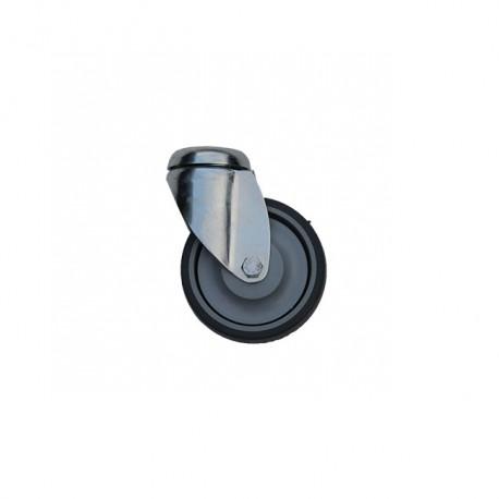 Roue Pivotante Bandage Caoutchouc Ø75mm