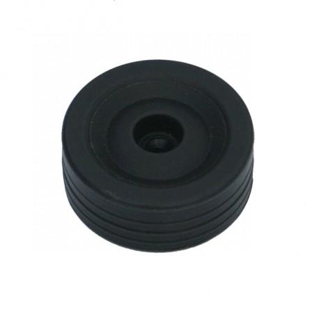 Black Wheel Ø80mm