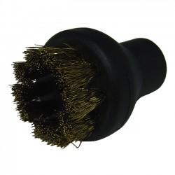 Small Round Brush Brass