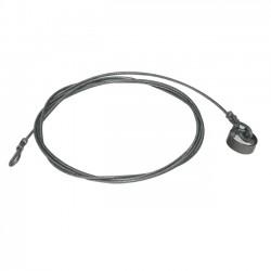 Câble Acier Lg 3.40M 2 Boucles