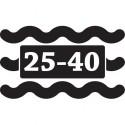 25 - 40L