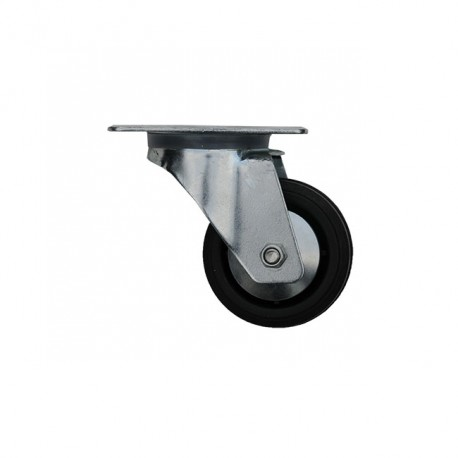 Pivoting Wheel With Platinum Ø80mm