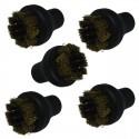 Small Round Brush Brass (x5)