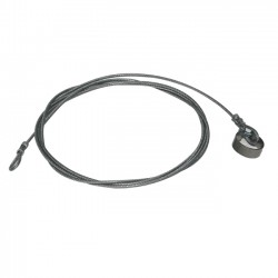 Steel Cable Lg 3.40M 2 Loops