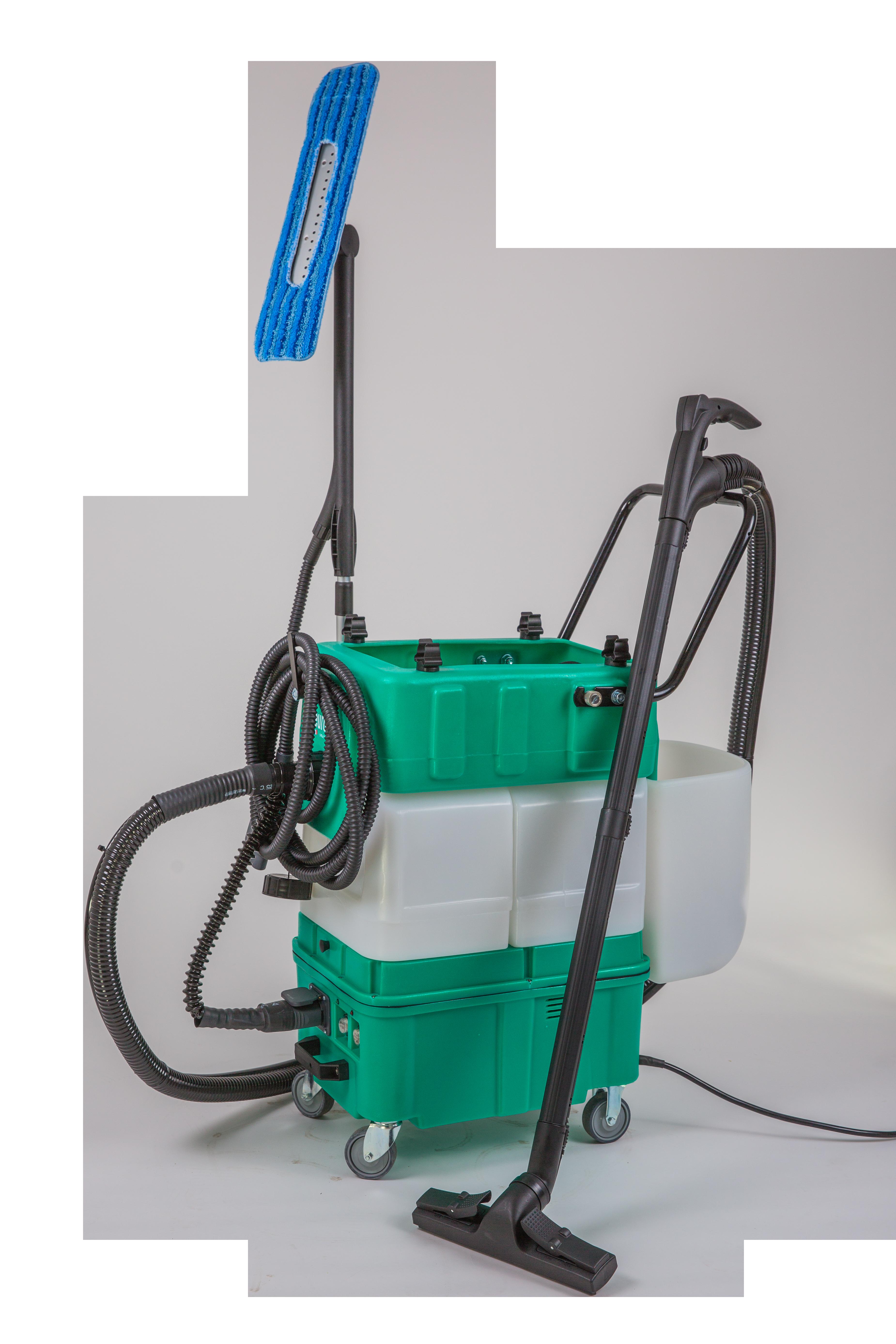 chariot nettoyeur vapeur multivap 14l désinfection covid