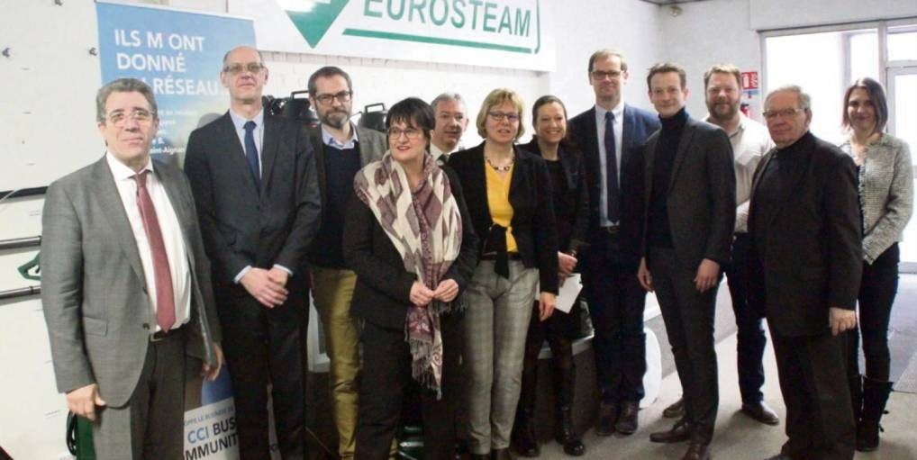 Eurosteam bénéficie du plan de revitalisation industrielle de la CCI