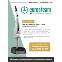 La nouvelle microlaveuse à batterie Floorwash est disponible chez Eurosteam